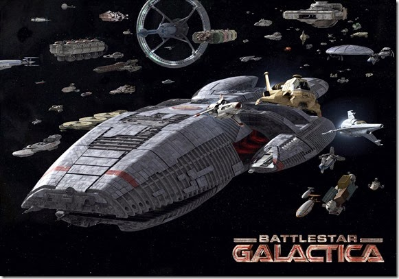 Battlestar Galactica Colonial Fleet