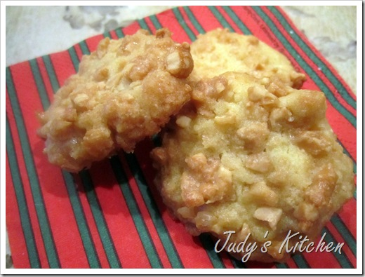 cashew brittle crunch cookies (4)