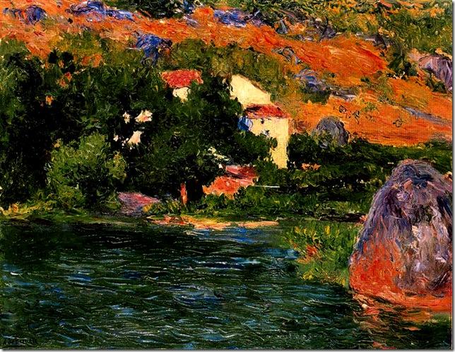 Aureliano de Beruete y Moret - orillas del júcar -1910