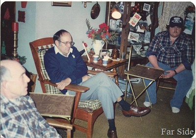 Arch Ron and Paul 1985 Christmas