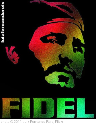 'Fidel cor 07' photo (c) 2011, Luiz Fernando Reis - license: http://creativecommons.org/licenses/by/2.0/