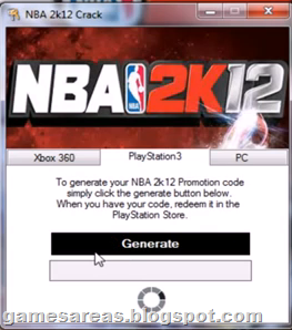 NBA 2K12 Keygen and Crack