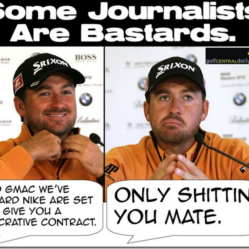 GMac Discovers Journalists Can Be Cruel Bast*rds