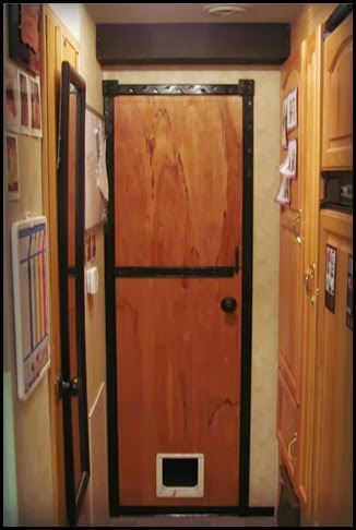 door finished front