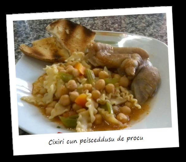Fotografia del piatto Cixiri cun peisceddusu de procu