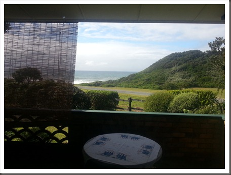 Cottage 51 - Kayser's Beach - Eastern Cape - Sea View From Master Bedroom Patio