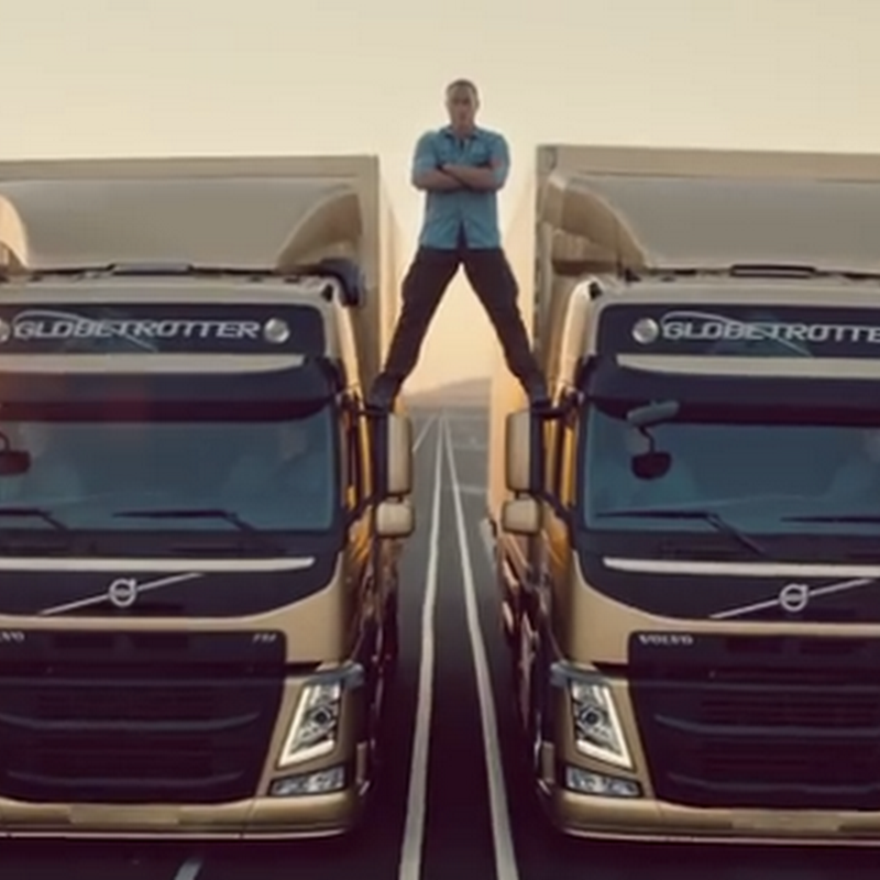 Van Damme en Volvo