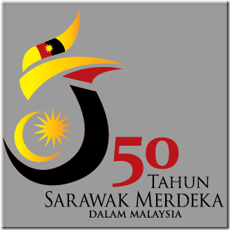 Logo-50-Tahun-Sarawak-Merdeka