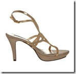 Victoria Delef Gold Sandal