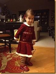 Sof Xmas outfit Dec 2011