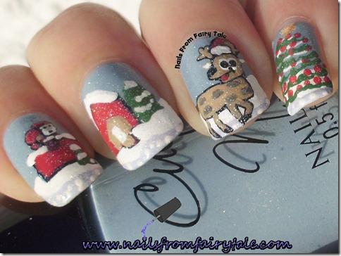 santa reindeer 4