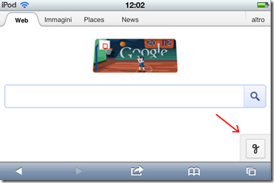 Icona funzione Scrittura a mano libera di Google