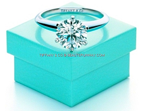 Tiffany & Co. Engagement Ring Wedding Band Setting blue box  romance choice wedding rings beauty brilliant-cut diamonds six platinum prongs couples symbol their true love luxury, design premium style craftmanship
