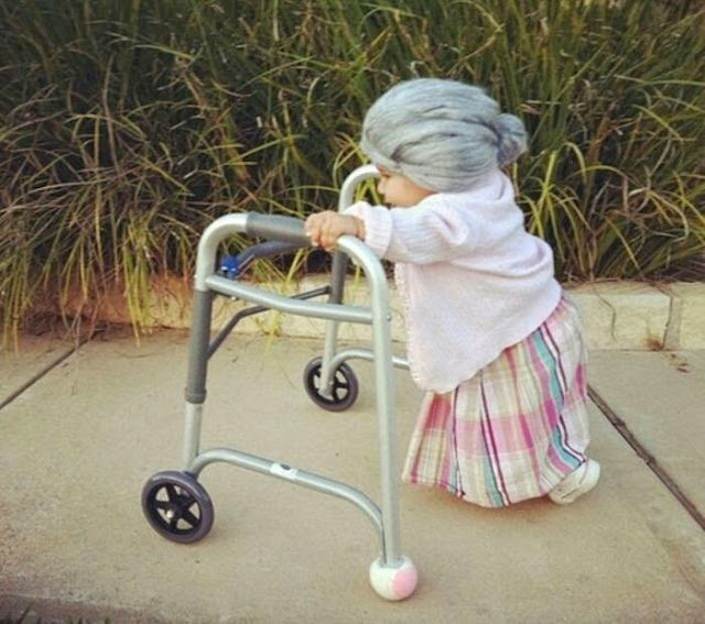 therefore i would say that the zimmer frame is more a symbol of disability rather than old age or those whom old age is disabling them in some way - Zimmer Frame