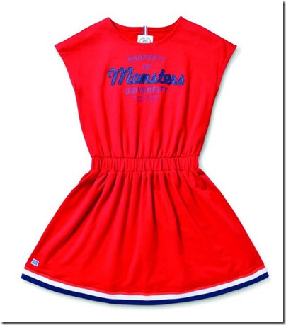Monster University X Giordano - Red Dress
