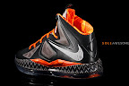 nike lebron 10 gs black history month 1 11 Release Reminder: Nike LeBron X Black History Month