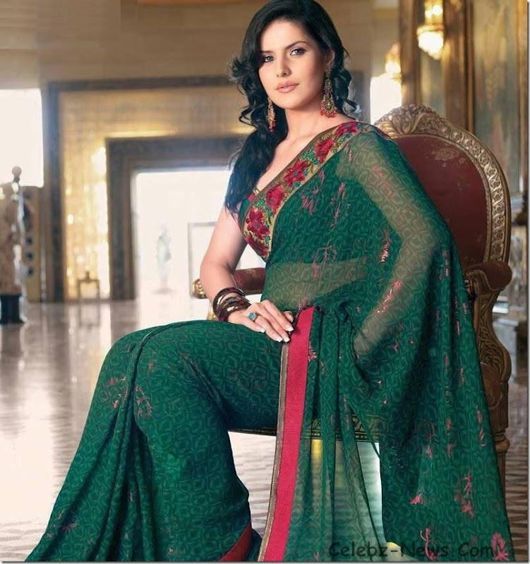 zarine-khan-saree-2