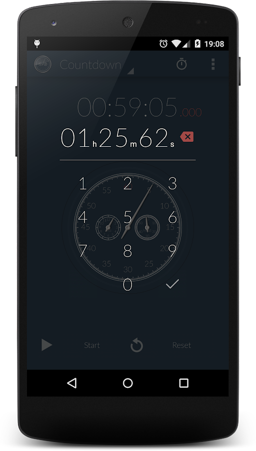 Stopwatch & Countdown Timer + Screenshot 2