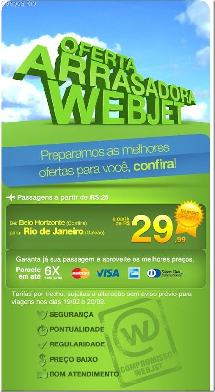 web jet oferta passagem