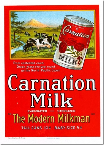 Art-Poster-Advertisement-Carnation-Milk