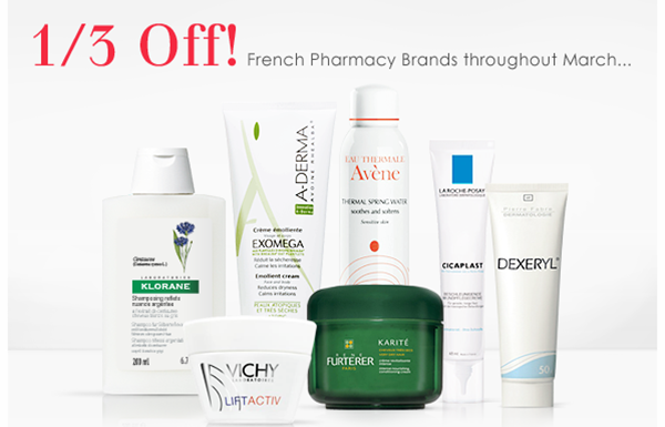 escentual french brands offer