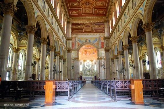 Basílica de Nossa Senhora de Nazaré - l'interno, foto: Marcio W. Mont
