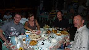Lecker indisches Essen mit Ekki, Kerstin und Andre