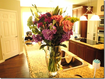 2.  Birthday flowers