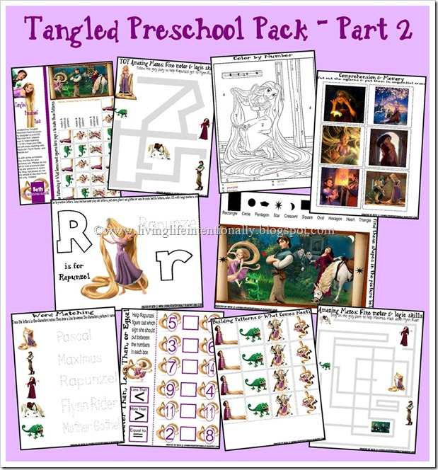 {FREE} Tangled Preschool Packlife Magazine Photographs
