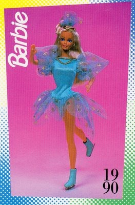 Barbie Ice Capades Blue (1990)