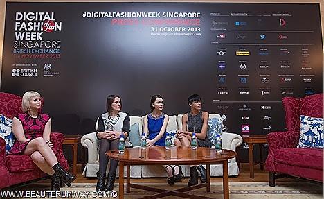 Digital Fashion Week 2013 Singapore Shows Naomi Campbell Heidi Klum Supermodel runway debut south east asia Holly Fulton Jaime Perlman British Vogue Devyn Abdullah, The Face winner  Jessica Amornkuldilok ANTM Singapore Designers