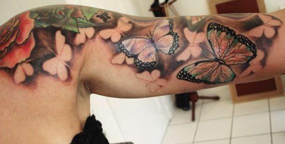 tattoo irada braço
