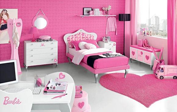 dormitorio temático de Barbie