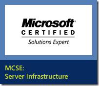 MCSE_ServerInfra_AchievedStep