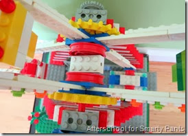 Lego Ferris Wheel - View from Above