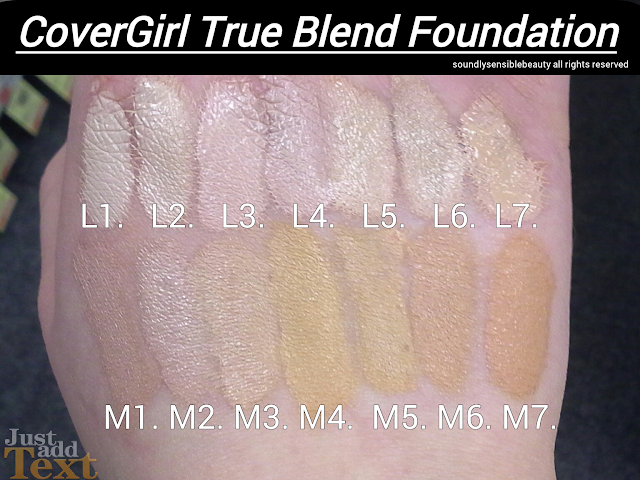 CoverGirl True Blend TruMagic New TruBlend Foundation