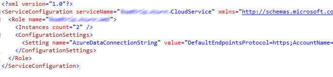 ServiceConfiguration