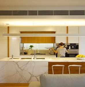 cocina de lujo marmol