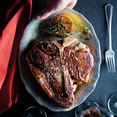 Porterhouse With Lemon-Thyme Butter