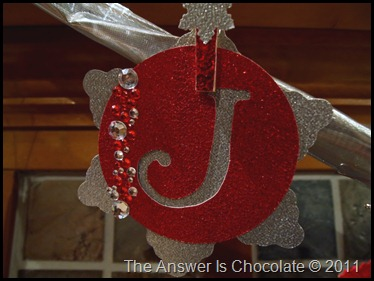 Jingle Banner Letter