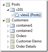 The data controller has been bound with a data view.