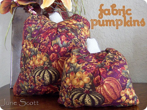 Fabric_Pumpkins