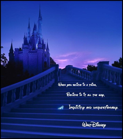 Disney Castle With Slipper - Copy