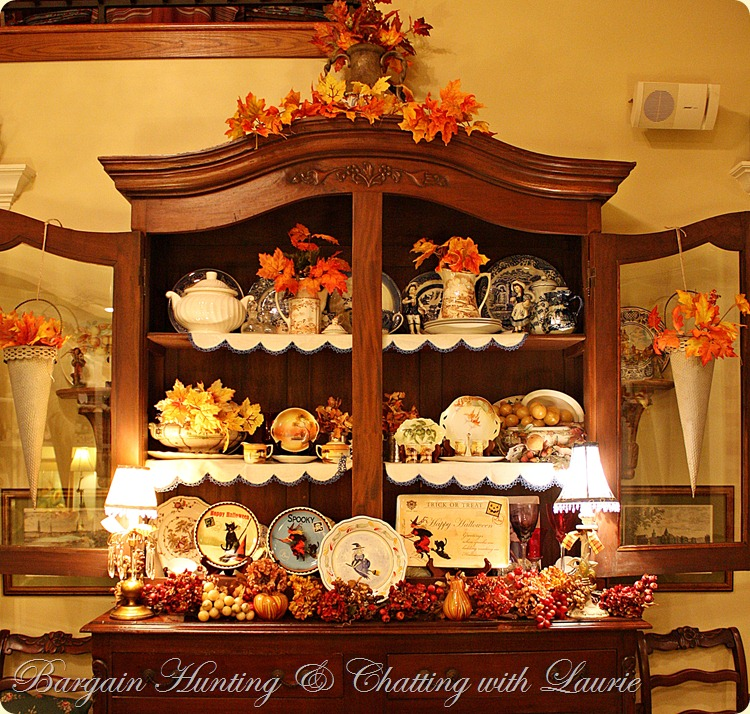 Bargain Fall Decor Bargain Hunting & Chatting with Laurie