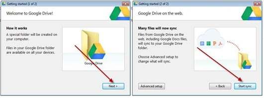 google-drive-sincronizzazione