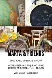 Marta & Friends Vintage Show
