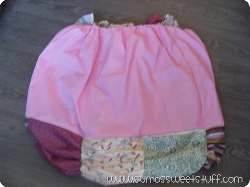 Sumo's Sweet Stuff - Really Ruched Bubble Dress