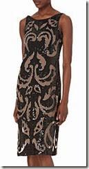Needle and Thread Sleeveless Sequined Side Split Dress