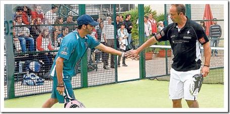 Xisco Monterde y Cutu Pérez Millan Campeones del X Torneo de Pádel Diario de Mallorca.