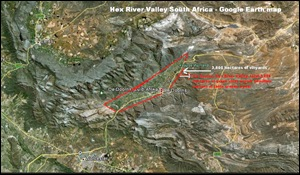 HEXRIVER VALLEY GOOGLE EARTH OVERVIEW MAP